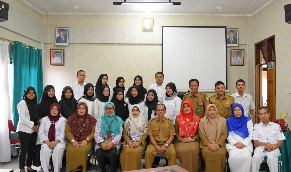 Dinas Kesehatan Kabupaten Solok Mendapatkan 14 Tenaga Kesehatan Penugasan Khusus Individu oleh Kemen